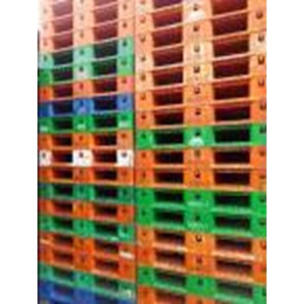 Juan Pallet plastik bekas semua Ukuran 110x110x12cm