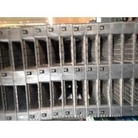 Distributor Pallet plastik bekas ukuran 120x100x15 cm mangkok 3