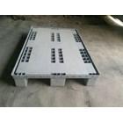 Pallet plastik bekas Ukuran 110x110x15 cm model WAJID 4