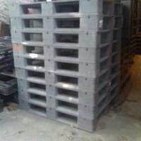 Beli Pallet plastik bekas ukuran 110x110x15 cm model rata Lot  3 ton  4