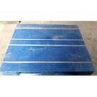 Pallet plastik bekas / baru dengan kondisi 80% dengan ukuran 120x100x16 cm 5