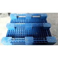 Beli Pallet plastik bekas / baru dengan kondisi 80% dengan ukuran 120x100x16 cm 4
