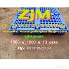 Pallet plastik murah ukuran 1100 x 1100 x 150 mm 5