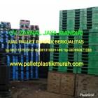 Pallet plastik murah ukuran 1100 x 1100 x 150 mm 2