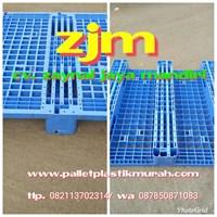 Pallet plastik murah ukuran 1100 x 1100 x 150 mm
