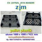 Pallet plastik ukuran 1000 x 1000 x 145 1