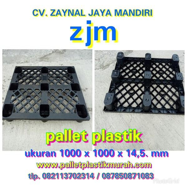 Pallet plastik ukuran 1000 x 1000 x 145
