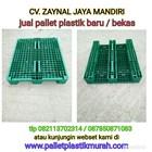 Pallet plastik bekas ukuran 1200x1000x160 cm  1