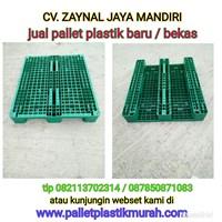 Pallet plastik bekas ukuran 1200x1000x160 cm