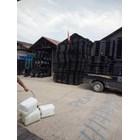 Supplier Pallet plastik Bekas ukuran 1300 x 1100 x 120 cm yg berkualitas  2
