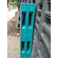 Distributor Supplier Pallet plastik Bekas ukuran 1400  x 1100 x 150 cm yg berkualitas  3
