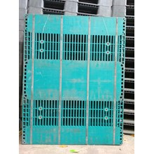 Plastic Pallet Supplier Used size 1400 x 1100 x 15