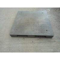 Supplier Pallet plastik Bekas ukuran 1100  x 1100 x 150 cm yg berkualitas