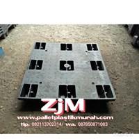 Supplier Pallet plastik Bekas ukuran 1100 x 1100 x 140 cm yg berkualitas  1