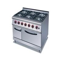 Gas Range 6 Burner with Oven