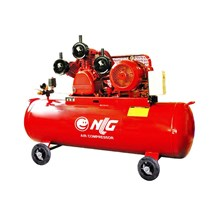 Kompresor Angin dan Suku Cadang Belt Driven NLG BAC 3075 With Motor