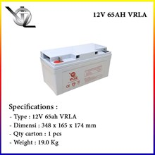 Baterai Kering Voz 12V 65 Ah