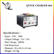 Battery Charger Voz 40 A