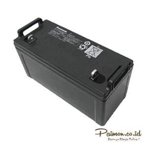 Panasonic 12V 100 Ah Baterai Aki kering Solar cell