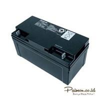Jual Panasonic 12V 65 Ah Baterai Aki Kering Solar cell