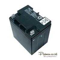 Jual Panasonic 12V 28 Ah Baterai Aki kering Solar cell UPS