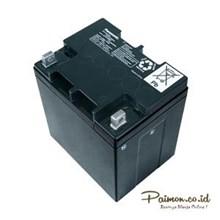 Panasonic 12V 28 Ah Baterai Aki kering Solar cell UPS