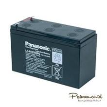 Panasonic 12V 17 Ah Baterai Aki kering Solar cell UPS