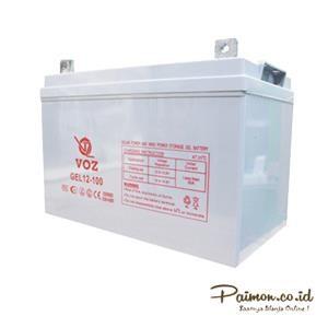 Baterai Kering Voz 12V 100 Ah