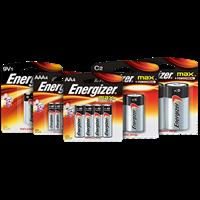 Jual Baterai Energizer Alkaline AA AAA C D 9V