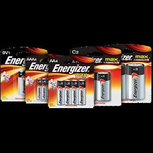 Baterai Energizer Alkaline AA AAA C D 9V