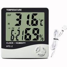 Higrometer Thermohygrometer Digital HTC-2