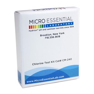 Chlorine Tester Hydrion Micro Chlorine Test Paper 10-200PPM CM-240