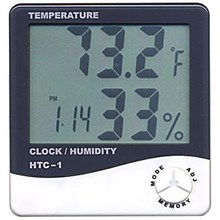 Higrometer Thermohygrometer Digital HTC1