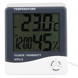Higrometer Thermohygrometer Digital HTC2