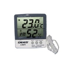 Thermohygrometer Digital Dekko 642N