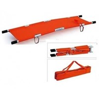 Two-folded Aluminium Stretcher