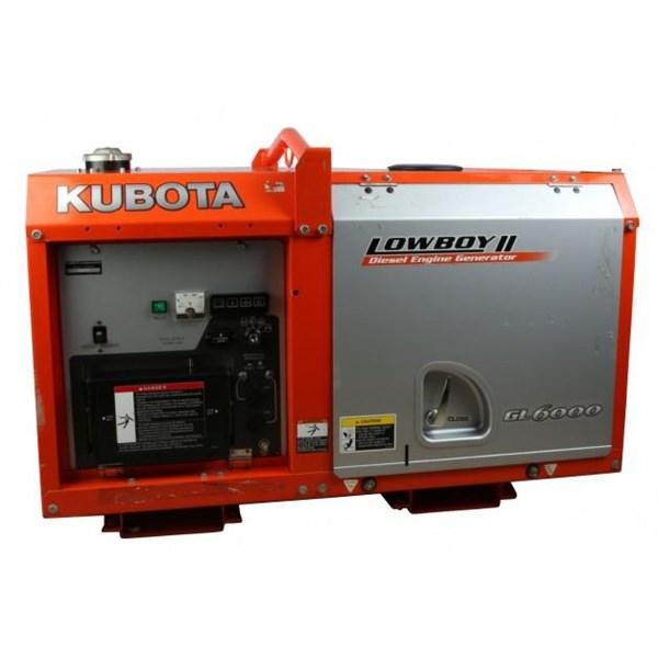 Genset Lowboy - Kubota GL 6000