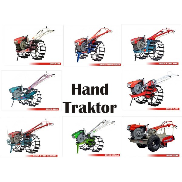 Traktor Sawah Tangan Kubota