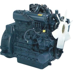 From Light Tower with Kubota Diesel Engine 2