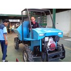 Oil palm tractors with kubota OC95 8