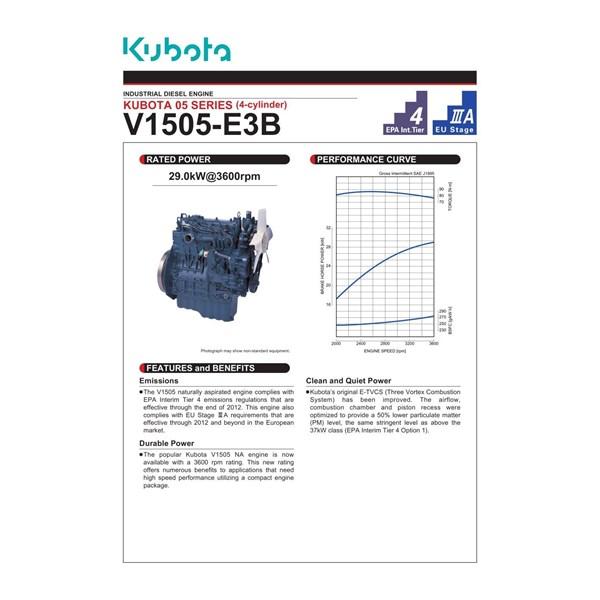 Mesin Kubota V1505