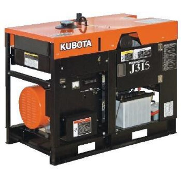 Genset Open kubota J-series