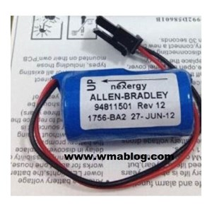 Dari ALLEN BRADLEY 1756-BA2 PLC Lithium Battery Aki Kering 0