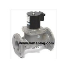 VRA VLA VTA Solenoid valves for combustion air regulation