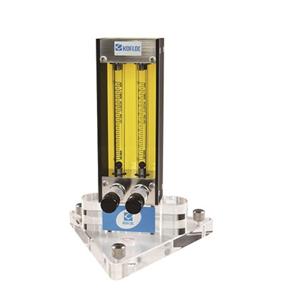 Kofloc Multiple Flow Meter with Needle Valve MODEL RK 120X SERIES