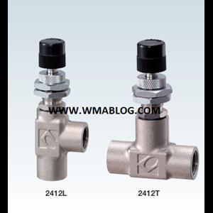 Kofloc Precision Needle Valve Non rotary Needle MODEL 2412 SERIES