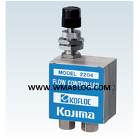 Kofloc Variable Primary Pressure Flow Controller MODEL 2204 SERIES 1