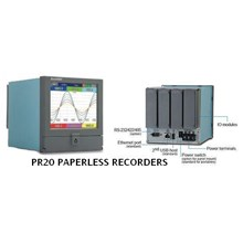LED Display paperless recorders  PR20 series