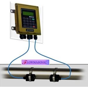 Dari Flow Meter clamp on ultrasonic WUF 100CF 2