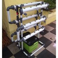 Kit Hidroponik Pipa Pvc 30 Lubang Fullset